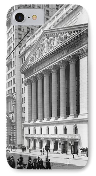 New York Stock Exchange, New York In 1904 IPhone Case by American School