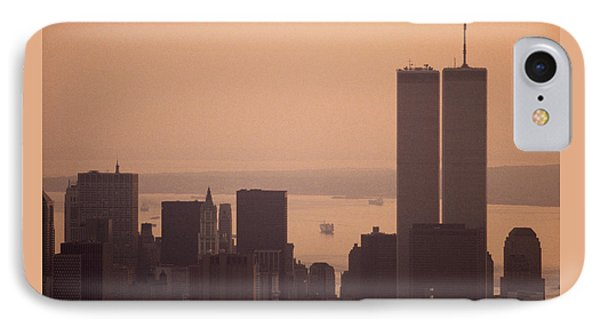 New York Sunset Phone Case by Shaun Higson