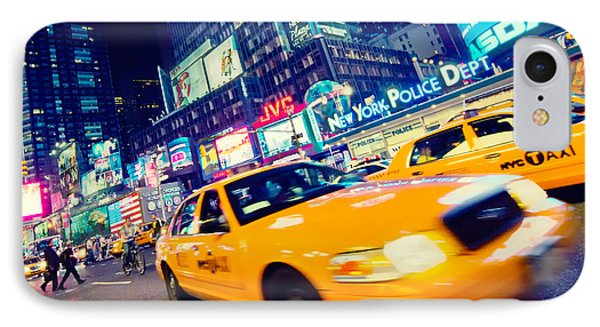 New York - Times Square IPhone Case by Alexander Voss