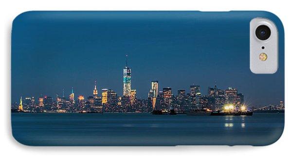New York Twilight IPhone Case by Jonathan Davison