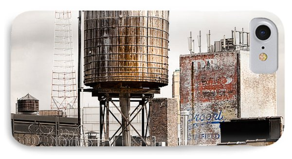 New York Water Tower 16 IPhone Case