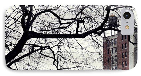 New York Winter Day 2 Phone Case by Sarah Loft