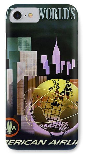 New York Worlds Fair Phone Case by Mark Rogan