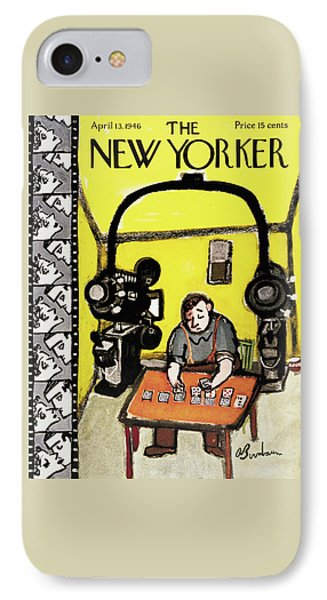 New Yorker April 13th, 1946 IPhone Case