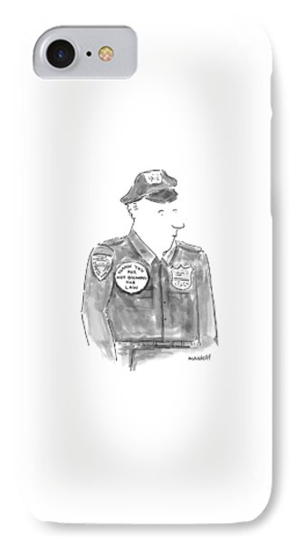 New Yorker April 19th, 1999 IPhone Case by Robert Mankoff