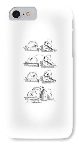 New Yorker April 20th, 1987 IPhone Case by Bernard Schoenbaum