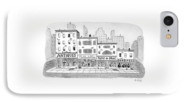 New Yorker April 20th, 1998 IPhone Case by Roz Chast