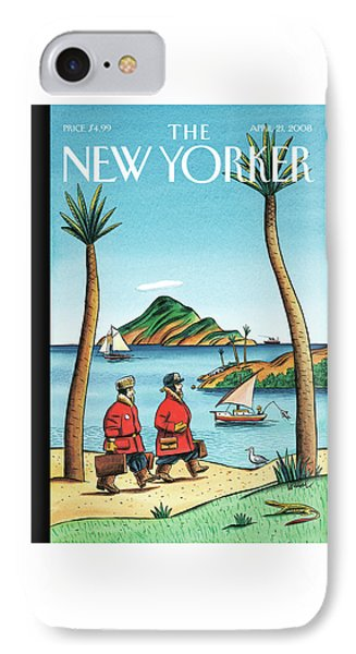 New Yorker April 21st, 2008 IPhone Case
