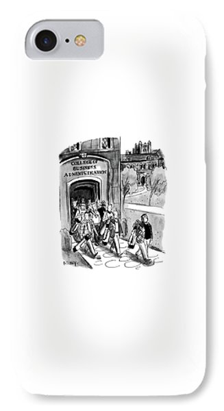 New Yorker April 24th, 1954 IPhone Case