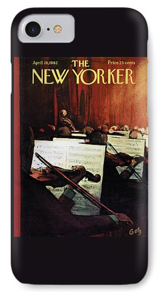 New Yorker April 28th, 1962 IPhone Case by Arthur Getz