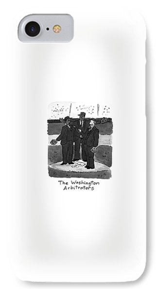 New Yorker April 5th, 1993 IPhone Case by Danny Shanahan