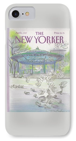 New Yorker April 6th, 1987 IPhone 7 Case