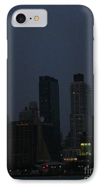 New Yorker At Night Phone Case by Avis  Noelle