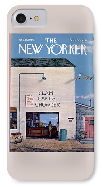 New Yorker August 16th, 1969 IPhone Case