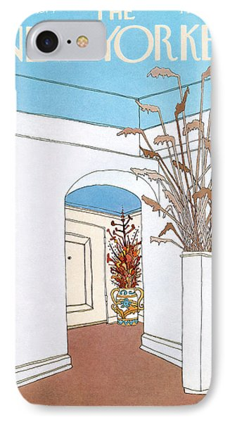 New Yorker August 19th, 1974 IPhone Case by Gretchen Dow Simpson
