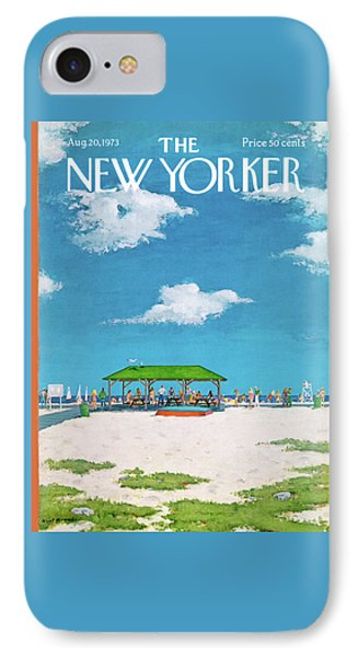 New Yorker August 20th, 1973 IPhone Case