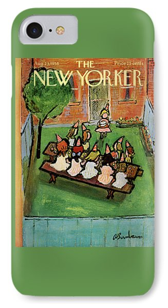 New Yorker August 23rd, 1958 IPhone Case