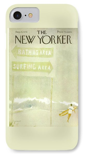 New Yorker August 23rd, 1976 IPhone Case