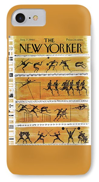 New Yorker August 27th, 1960 IPhone Case