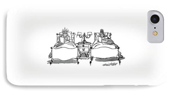 New Yorker August 2nd, 1993 IPhone Case by Mischa Richter
