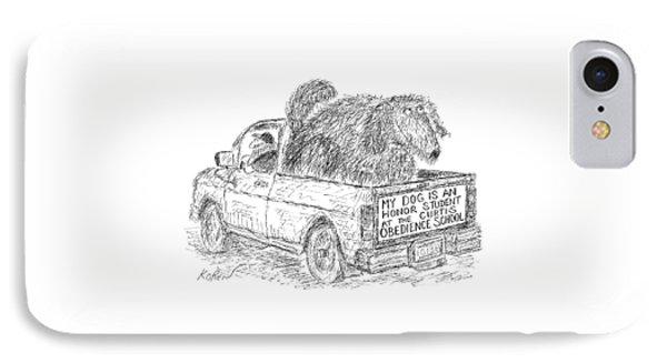 New Yorker August 2nd, 1999 IPhone Case by Edward Koren