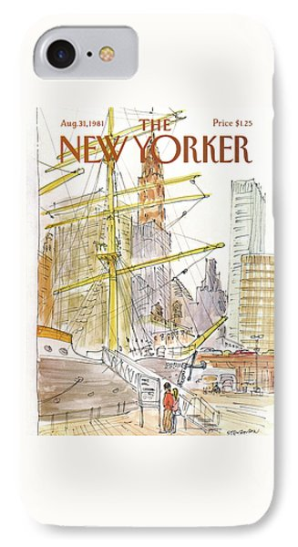 New Yorker August 31st, 1981 IPhone Case