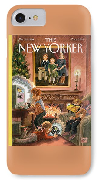 New Yorker December 16th, 1996 IPhone Case