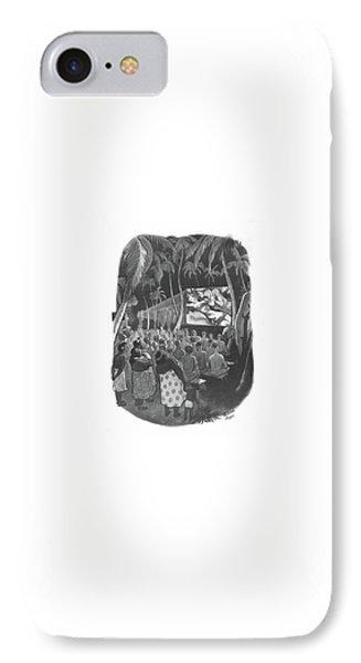 New Yorker December 18th, 1943 IPhone Case by Richard Decker