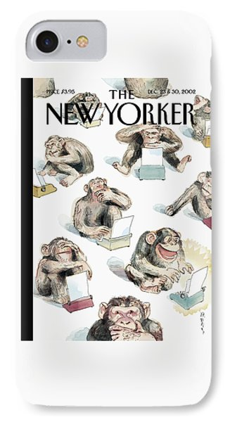 New Yorker December 23rd, 2002 IPhone 7 Case