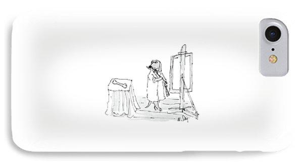 New Yorker December 26th, 1988 IPhone Case by William Steig