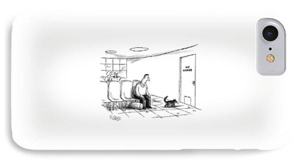 New Yorker December 2nd, 1991 IPhone Case by Sam Gross