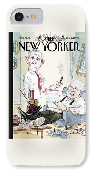 New Yorker December 5th, 2005 IPhone 7 Case by Barry Blitt