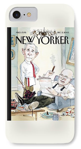 New Yorker December 5th, 2005 IPhone Case by Barry Blitt