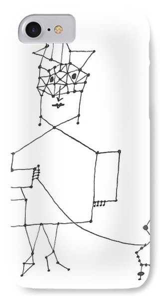 New Yorker December 7th, 1957 IPhone Case by Saul Steinberg