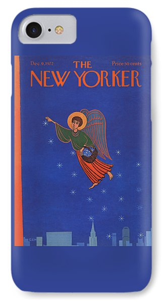 New Yorker December 9th, 1972 IPhone Case by Charles E. Martin