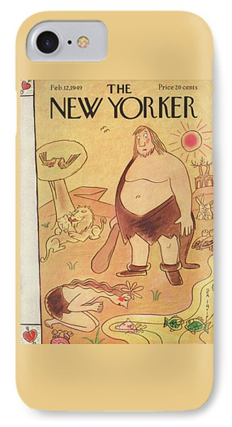 New Yorker February 12th, 1949 IPhone Case