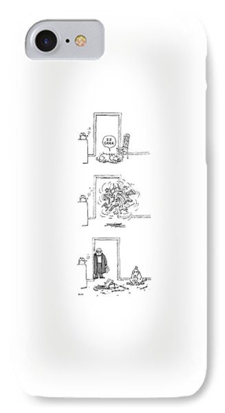 New Yorker February 23rd, 1987 IPhone Case by George Booth