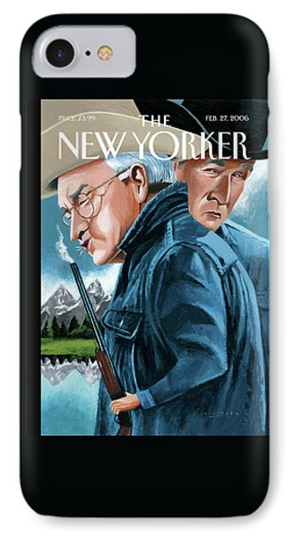 New Yorker February 27th, 2006 IPhone Case by Mark Ulriksen