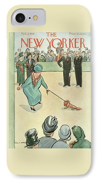 New Yorker February 8th, 1936 IPhone Case
