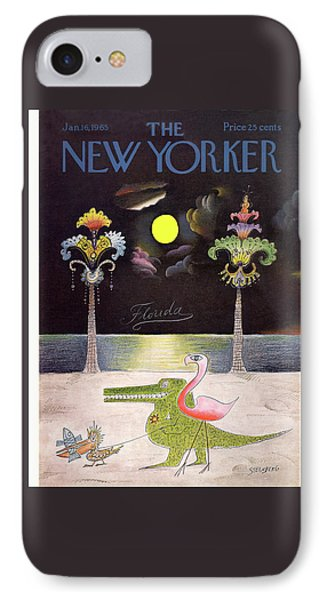 New Yorker January 16th, 1965 IPhone Case