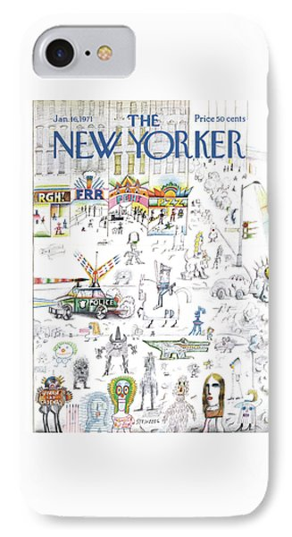 New Yorker January 16th, 1971 IPhone Case