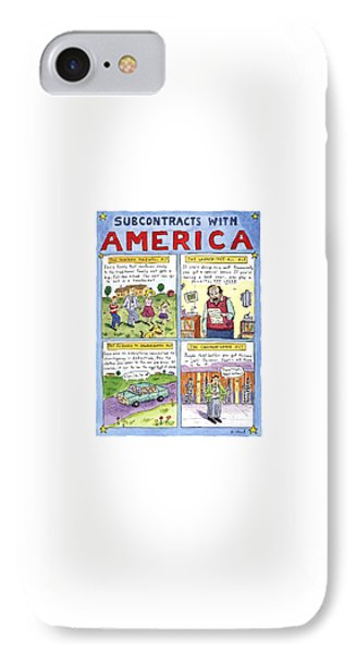 New Yorker January 16th, 1995 IPhone Case by Roz Chast