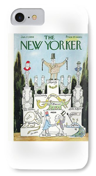New Yorker January 17th, 1959 IPhone Case