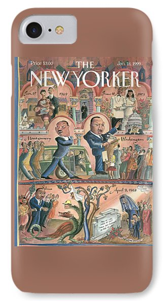 New Yorker January 18th, 1999 IPhone Case