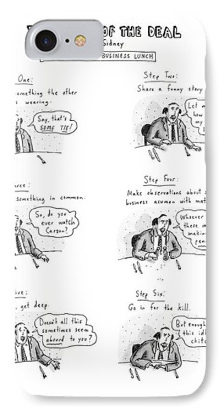 New Yorker January 22nd, 1990 IPhone Case by Roz Chast