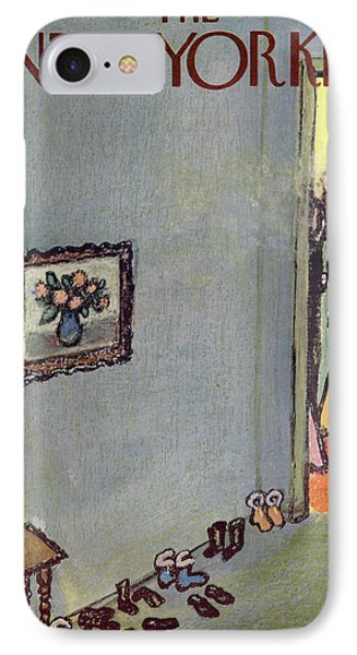 New Yorker January 3rd, 1959 IPhone Case by Abe Birnbaum