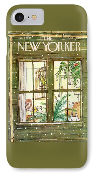 New Yorker January 9th, 1978 IPhone Case