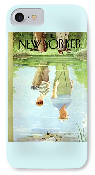 New Yorker July 12th, 1958 IPhone Case by Rea Irvin