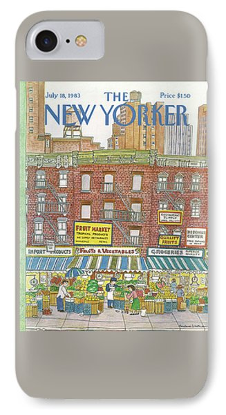 New Yorker July 18th, 1983 IPhone Case