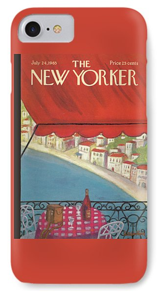 New Yorker July 24th, 1965 IPhone Case by Beatrice Szanton